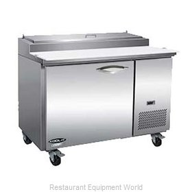 MVP Group KPP44 Refrigerated Counter, Pizza Prep Table
