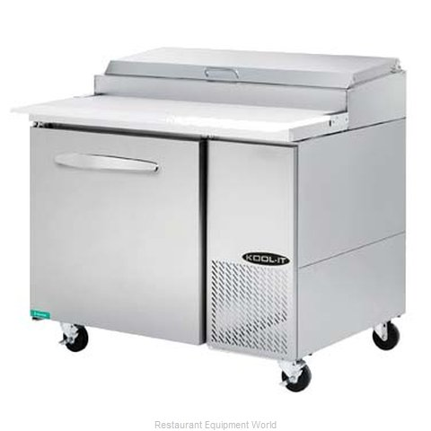 MVP Group KPT-44-1 Refrigerated Counter, Pizza Prep Table
