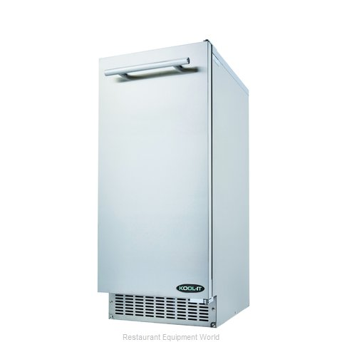 MVP Group KRU-70-AB Ice Maker with Bin, Cube-Style