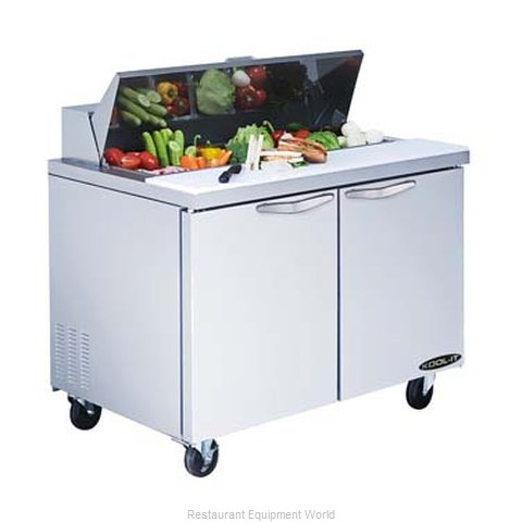 MVP Group KST-36-2 Refrigerated Counter, Sandwich / Salad Top