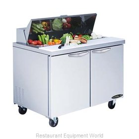 MVP Group KST-48-2 Refrigerated Counter, Sandwich / Salad Top