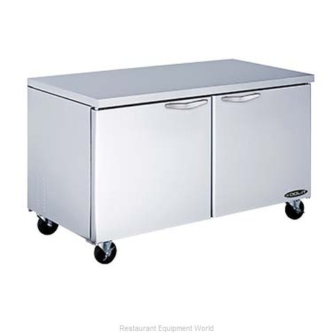 MVP Group KUCR-60-2 Refrigerator, Undercounter, Reach-In