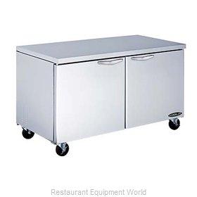 MVP Group KUCR-60-2 Refrigerator, Undercounter, Reach-In