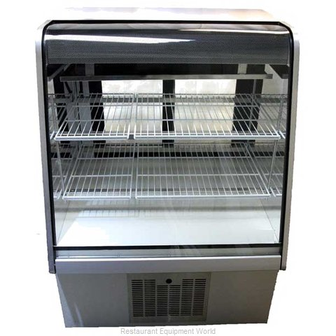 MVP Group NOR-4D Display Case Non-Refrigerated Bakery