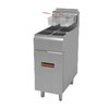 MVP Group SRF-25/25-NG Fryer, Gas, Floor Model, Split Pot