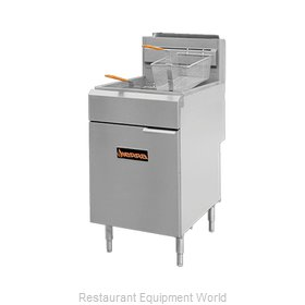MVP Group SRF-SC-75/80 Fryer, Gas, Floor Model, Full Pot