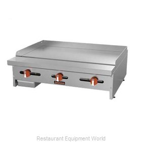 MVP Group SRMG-24 Griddle, Gas, Countertop