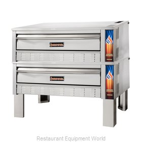 MVP Group SRPO-60G-2 Pizza Bake Oven, Deck-Type, Gas