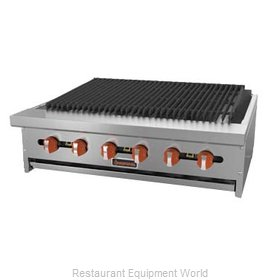 MVP Group SRRB-36 Charbroiler, Gas, Countertop