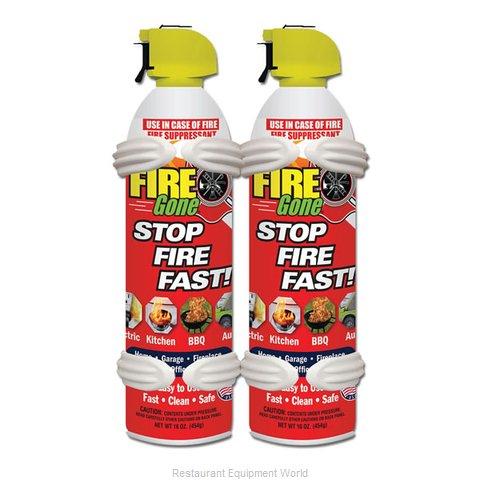 Max Pro 2-FG-7209 Fire Gone Suppressant 2-pack w/Brackets