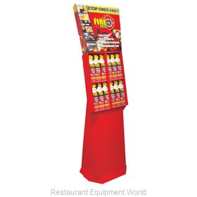 Max Pro FG24-247-102 Fire Gone 24-can Floor Display