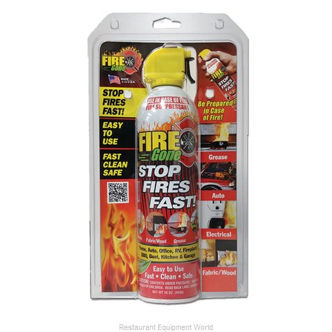 Max Pro FGC-1100 Fire Gone Suppressant 16 oz Clamshell