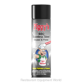 Max Pro PBSS-3668 Piggy's BBQ Stainless Steel Cleaner 17 oz