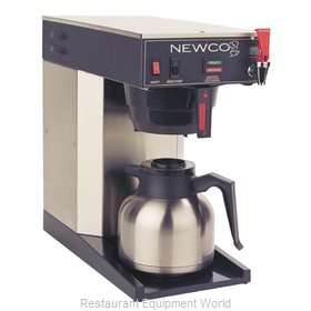 Newco ACE-TS SHORT Coffee Brewer for Thermal Server