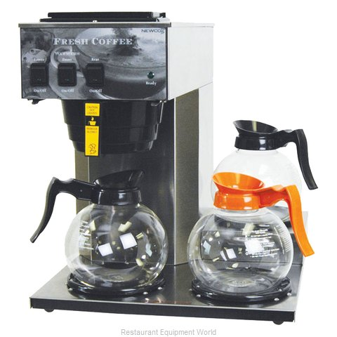 Newco AK-3AS Coffee Brewer for Decanters