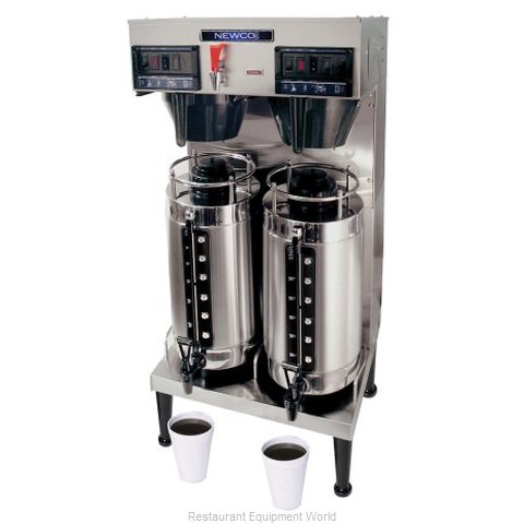 Newco GXDF-8D High Volume Satellite Automatic/Pourover Brewer w/Faucet