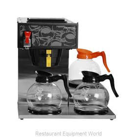Newco NK-LP3AF Coffee Brewer for Decanters