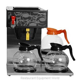 Newco NKLP3AF Three Station Pour-Over Coffee Brewer