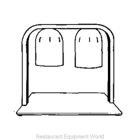 Nemco 6009-2 Heat Lamp, Bulb Type