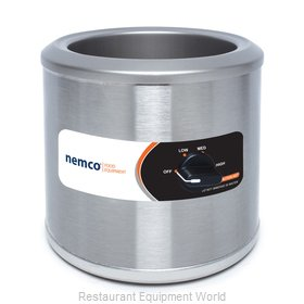 Nemco 6102A-220 Food Pan Warmer/Cooker, Countertop