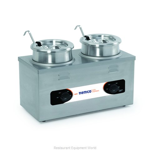 Nemco 6120A-CW-ICL Food Pan Warmer/Cooker, Countertop (Magnified)
