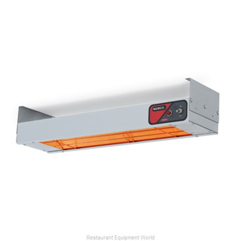 Nemco 6150-48-CP Heat Lamp Strip Type (Magnified)