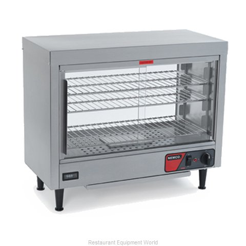 Nemco 6460 Display Case, Hot Food, Countertop