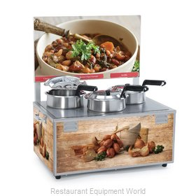 Nemco 6510-T4 Food Pan Warmer/Cooker, Countertop