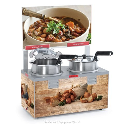 Nemco 6510A-2D4P Food Warmer Soup Chili