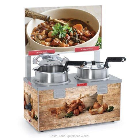 Nemco 6510A-2D4P Food Pan Warmer/Cooker, Countertop