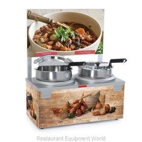 Nemco 6510A-2D7 Food Pan Warmer/Cooker, Countertop