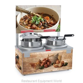 Nemco 6510A-2D7P Food Warmer Soup Chili