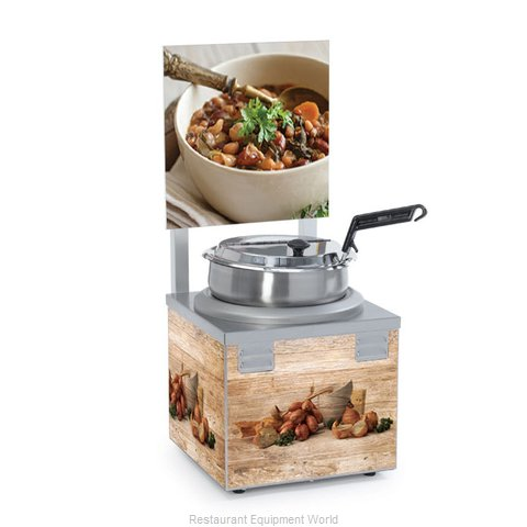 Nemco 6510A-S7P Food Warmer Soup Chili (Magnified)