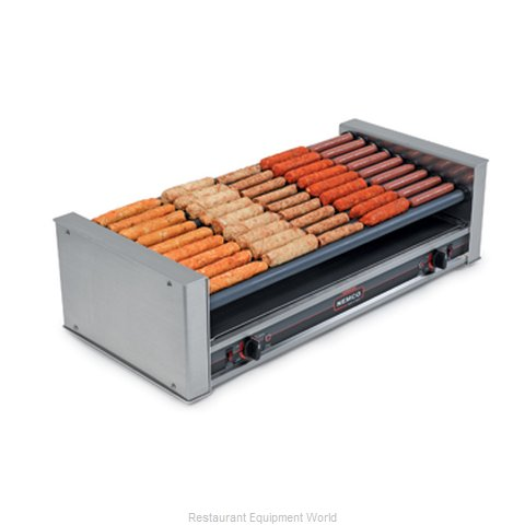 Nemco 8027-SLT-220 Hot Dog Grill Roller-Type (Magnified)