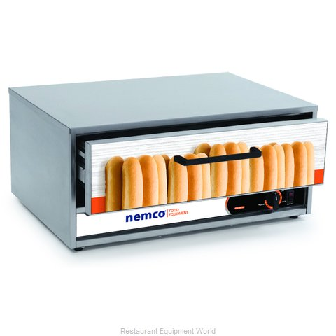 Nemco 8045N-BW-230 Bun Roll Warmer Free-Standing (Magnified)