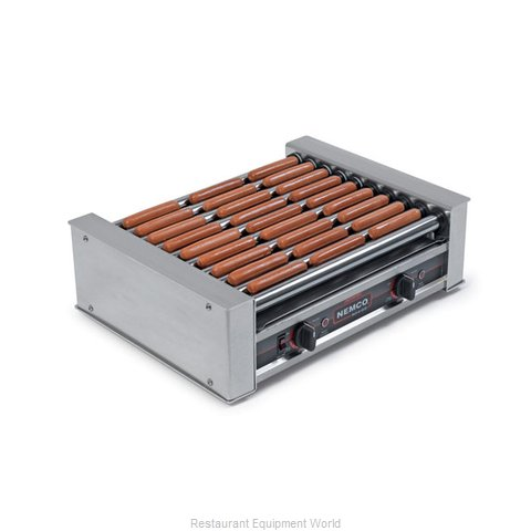 Nemco 8045SXW-220 Hot Dog Grill Roller-Type (Magnified)