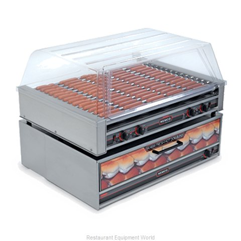 Nemco 8075SX Hot Dog Grill (Magnified)