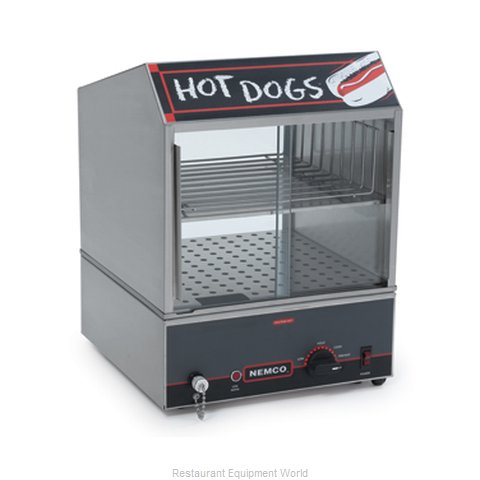 Nemco 8300-230 Hot Dog Steamer (Magnified)