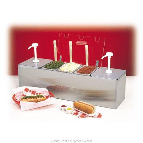 Nemco 88100-CB-1 Condiment Dispenser, Pump-Style