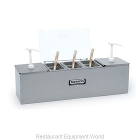 Nemco 88100-CB-2 Condiment Bar