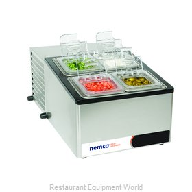 Nemco 9010 Refrigerated Countertop Pan Rail