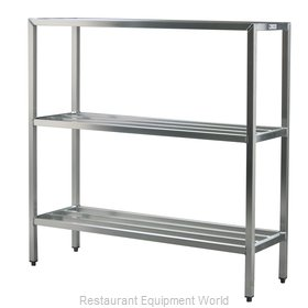New Age 1044 Shelving Unit, Tubular