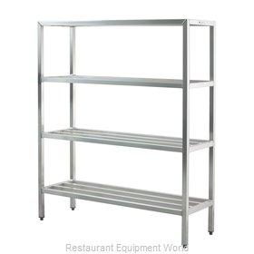 New Age 1063 Shelving Unit, Tubular