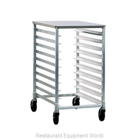 New Age 1311 Pan Rack with Work Top, Mobile