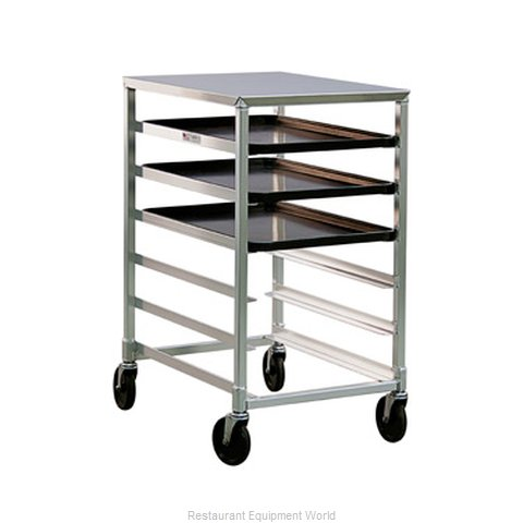 New Age 1321 Pan Rack with Work Top, Mobile