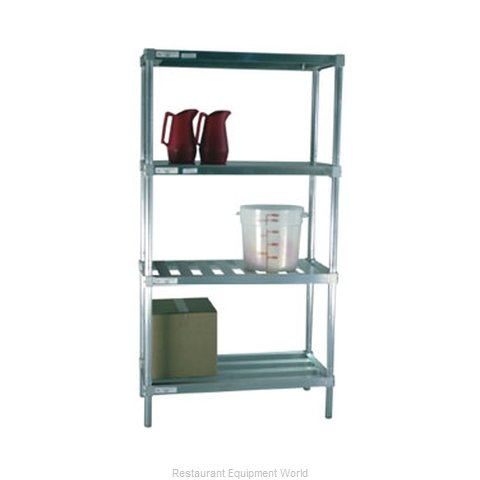 New Age 2496HD Shelving, Tubular (Magnified)