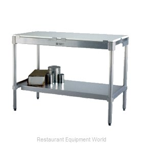 New Age 24P84KD Work Table, Poly Top