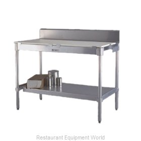 New Age 24PBS48KD Work Table, Poly Top