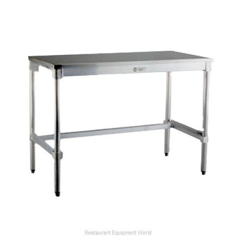 New Age 24SS84KD Work Table 84 Long Stainless steel Top