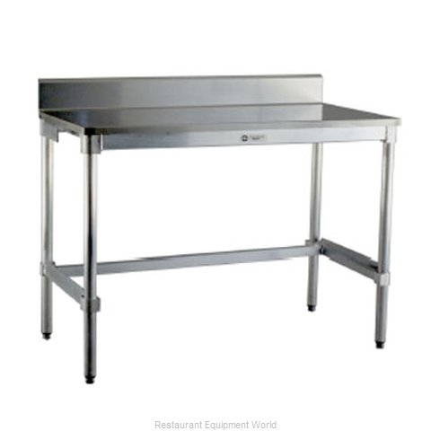 New Age 24SSB84KD Work Table 84 Long Stainless steel Top